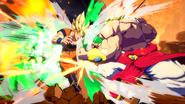 Broly vs Goku FighterZ