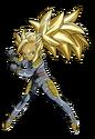 Forte (Super Saiyan 3) (Artwork)