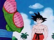 2Goku emocionado por la pelea