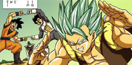 Gogeta SSAP Manga