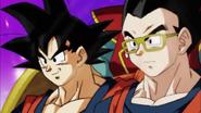 Goku y Gohan en el Torneo de Exhibición