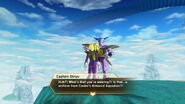 Xenoverse - Captain Ginyu's comment on the Cooler's Armored Squadron armor