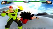 Androide 16 vs Goku BT3