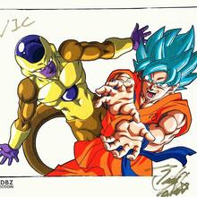 Goku SSGSS Golden Freezer Tadayoshi Yamamuro.PNG