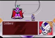 Mecha-Frieza commands King Cold's soldeirs on Earth, Legacy of Goku II Israelite Snap 01