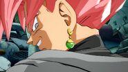 Pose de ganador Goku Black FighterZ