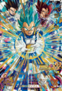 SDBH World Mission SH4-29 Vegeta (SSGSS) card (Four Star Rarity - Berserker Type - SDBH Set 4 - Royal Family Galick Gun SSB Vegeta IV, Tarble, and King Vegeta III)