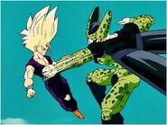Gohan Super Saiyan 2 vs Cell Perfecto333433
