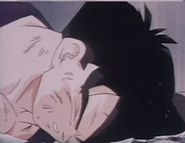 Teen gohan fail floor after being over powered defeated and killed by turles4
