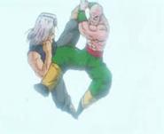 Tenshinhan y Trunks