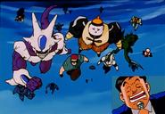 Villanos escapando del infierno (DBGT)