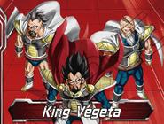 King Vegeta DBS card game