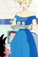 Panchy conoce a Goku