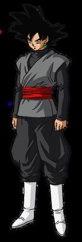 Cuerpo de Goku