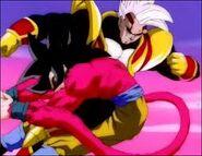 Goku Super Saiyan vs Super Baby Vegeta 2 (2)
