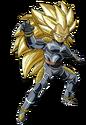Basâku (Super Saiyan 3) (Artwork)