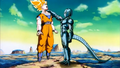 Cooler chokes Goku