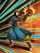 Dokkan Battle Power to Overcome Adversity Mai (Future) card