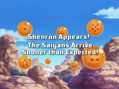 Shenron Appears! The Saiyans Arrive Sooner than Expected!
