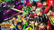 SDBH World Mission Dragon Ball Heroes Team & Time Patrol VS The Menace Sealas & Ahms (Promotional Artwork)