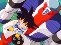 5. Super Sigma keep up with Goku in Speed