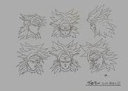 Sketch DBZ11 Broly SSJ (3)