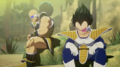 Vegeta and Nappa in Planet Tritek DBZ Kakarot