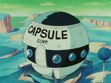 Capsule Corporation spaceship