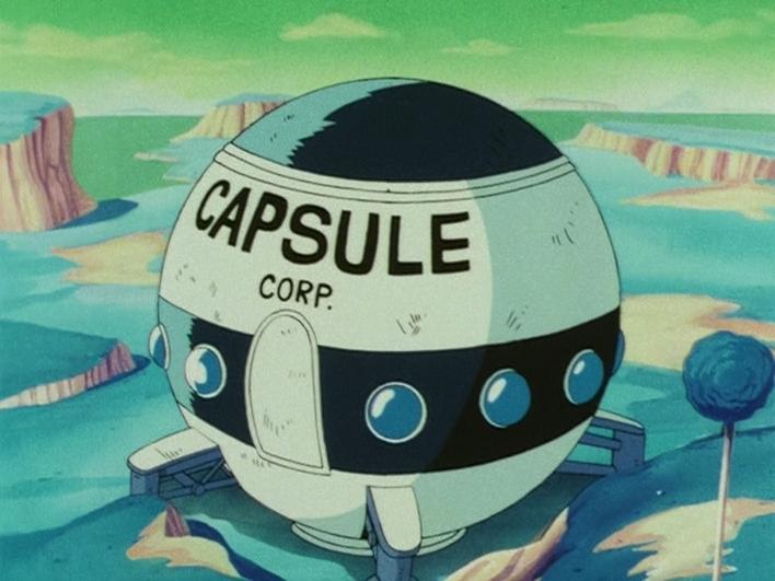 Capsule Corporation spaceship | Dragon Ball Wiki | Fandom