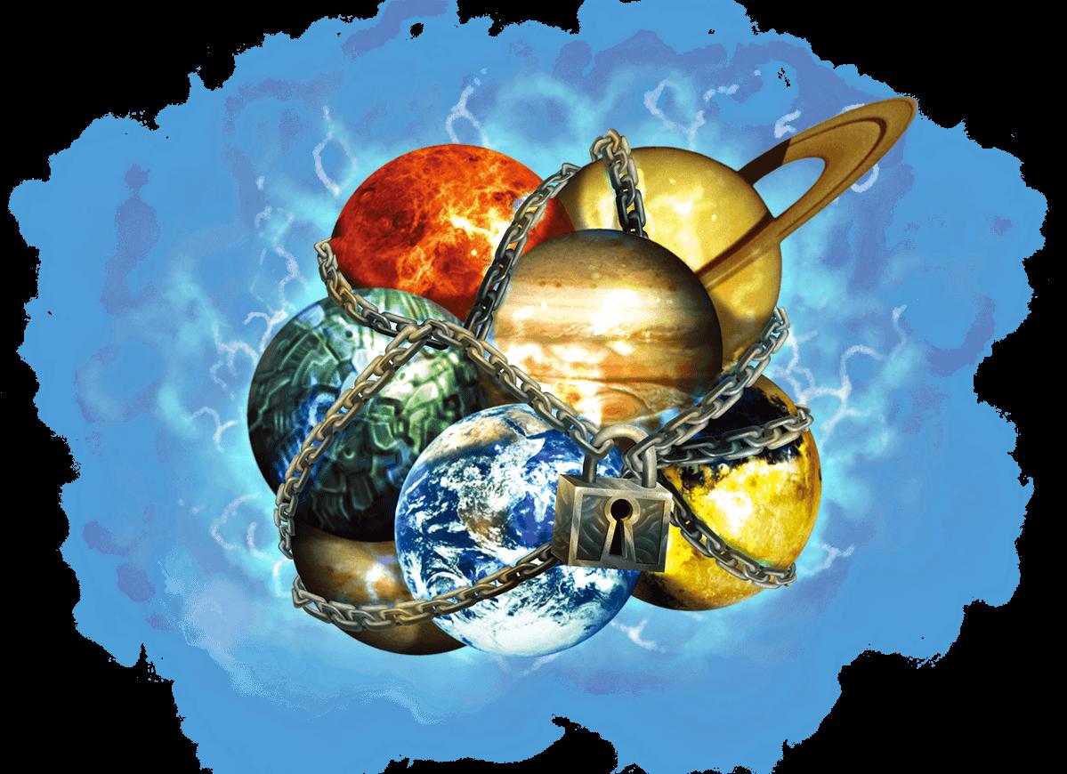 Planètes Emprisonnées