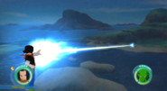 Destello de Fotones en Raging Blast