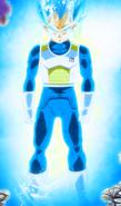 Vegeta Super Saiyan Azul