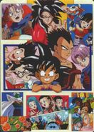 Varios personajes (DBGT)
