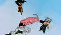 Boo attaque Trunks