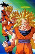 Goku fases hasta 3b grande