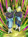 Dokkan Battle A Lesson of Good and Evil Gowasu & Zamasu card (Supreme Kai of Universe 10 Gowasu & Zamasu UR)