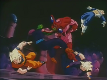 Hatchiyack vs z fighters.png