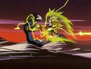 Son Goku Super Saiyan 3 contro Baby