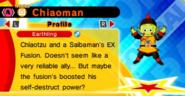 DB Fusions EX-Fusion Character Chiaoman (Profile)