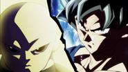 Goku Doctrina egoísta Señal vs. Jiren