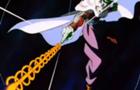 Ilusión de Piccolo disparando el Makankosappo