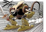 Robot Pirata - manga colori