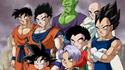 Z-Fighters stands in front of the Majin Buu threat in Dragon Ball Z Kai The Final Chapters Ending (True HD) - Never give up