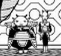 A DXRD resize of 2 PTO soldiers next to Frieza (Dragon Ball Minus)(x800%)