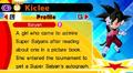 DB Fusions Female Saiyan Kiclee (Character Profile)