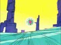 Nave de Goku en Yadrat