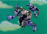 Piccolo luchando