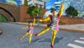 DBXV2 Future Warrior (Female Saiyan) & Time Patroller (Male Saiyan) Zen-Oh's Clothes & Zen-Oh Jump (Demented Deity - Raid Quest Reward & DLC Emote)