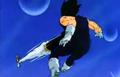 Vegeta's Respect - Kid Buu mystic attack