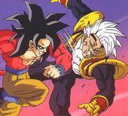 Goku Super Saiyan vs Super Baby Vegeta 2 (8)